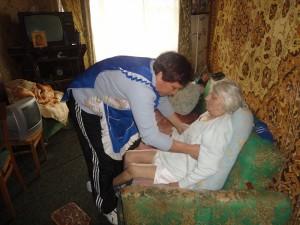 Уход в домашних условиях за пожилыми
