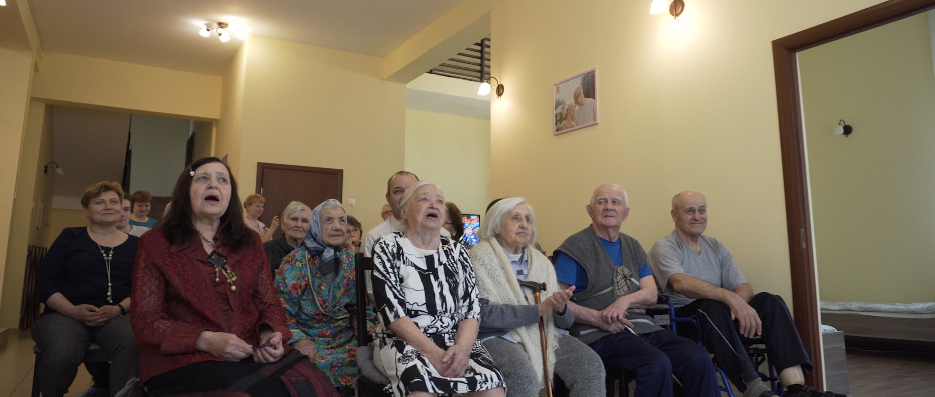 пожилые на дому технологии