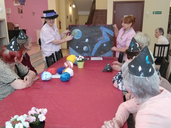 День космонавтики для пожилых людей