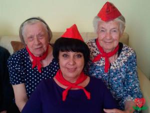 День пионерской организации в пансионате для пожилых людей