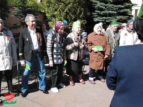 День победы в частном пансионате для престарелых