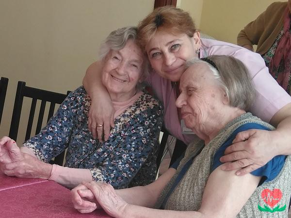 Забота в пансионате для пожилых людей