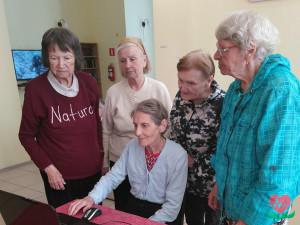 День блоггера в пансионате для пожилых людей