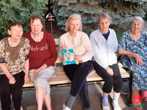 День ВДВ в пансионате для пожилых людей